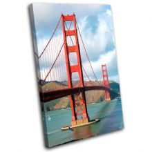 Golden Gate Bridge Landmarks - 13-0110(00B)-SG32-PO